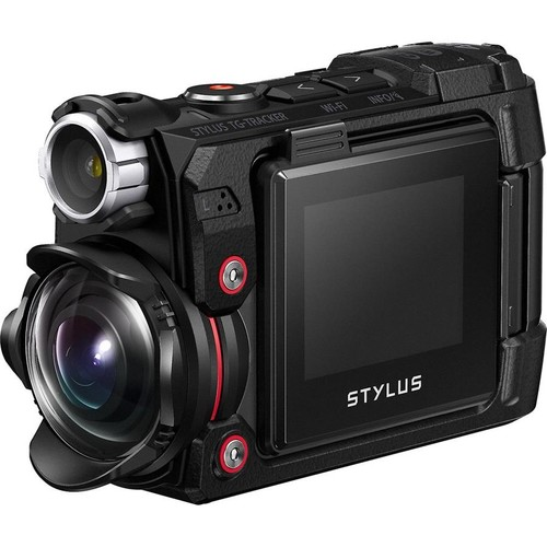 Olympus Stylus Tough TG Tracker (Black) 4K Ultra HD action cam with Wi-Fi