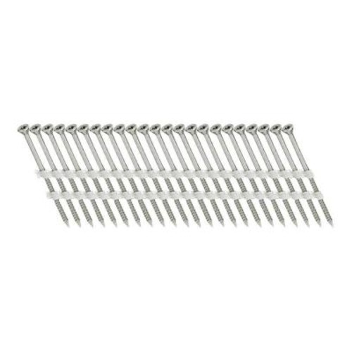 Scrail 2 in. x 1/9 in. 20-Degree Plastic Strip Versa Drive Nails Screw (500 per Pack)