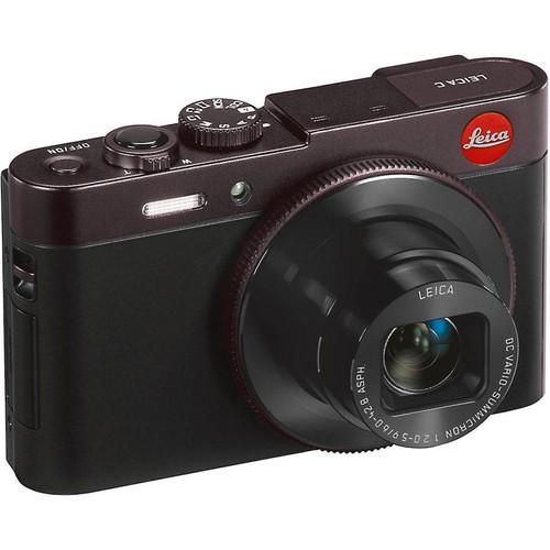 Leica C Digital Camera (Dark Red) 12-megapixel camera with Wi-Fi