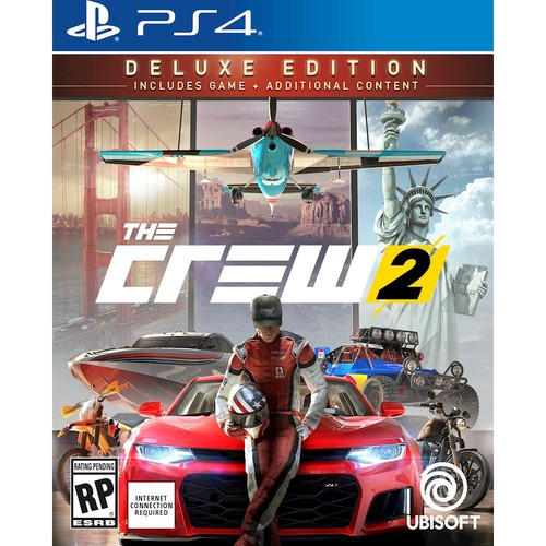 The Crew 2 Deluxe Edition - PlayStation 4