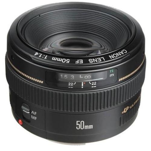 Canon EF 50mm f/1.4 USM Standard AF Lens, USA #2515A003