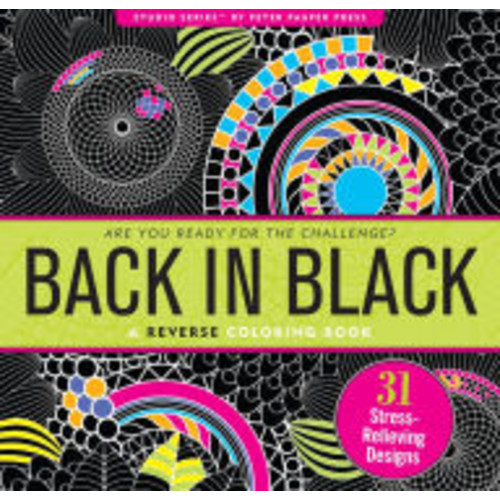 Back in Black Artist's Coloring Book