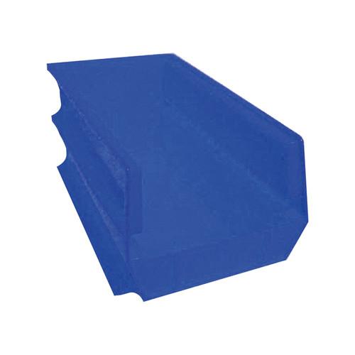 Triton Products LocBin Hanging and Interlocking Bins  6-Pk., Blue, 14 3/4-In.L x 8 1/4-In.W x 7-In.H, Model# 3-240B