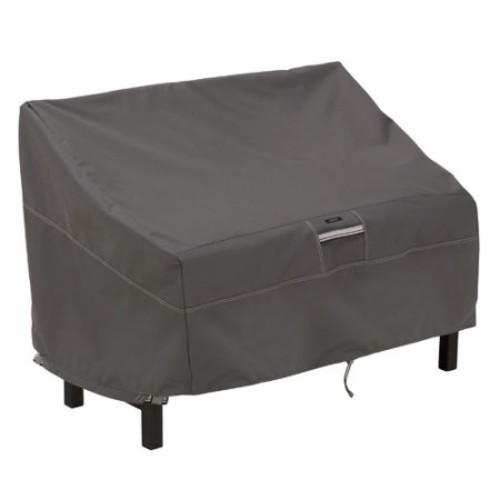 Classic Accessories Ravenna Bench Cover in Dark Taupe