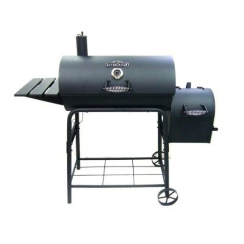 RiverGrille Cattleman 29 in. Charcoal Grill and Smoker