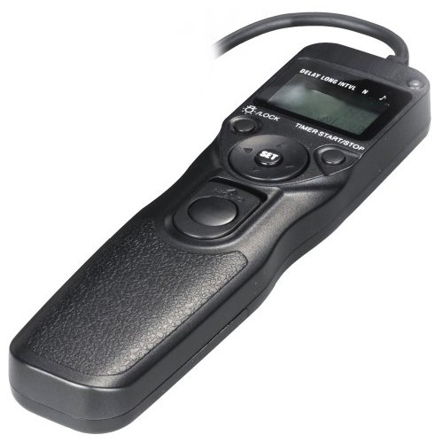 Bower LCD Timer and Remote Shutter Release for Nikon D70S and D90 Digital SLR cameras (RCLN2R)