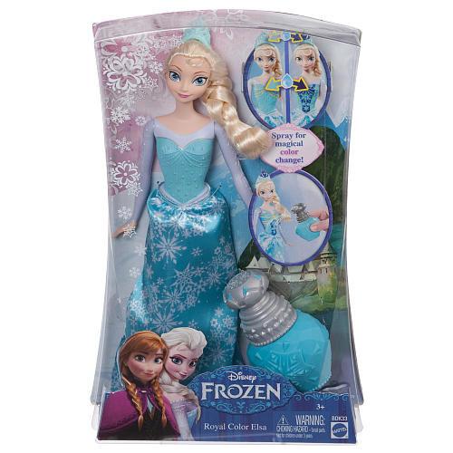 Disney Frozen Royal Color Elsa Doll