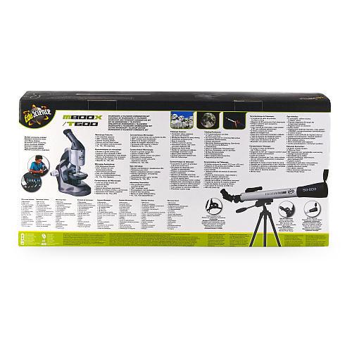 Edu Science Microscope & Telescope Combination Set
