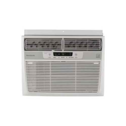 12000 BTU Window-Mounted Air Conditioner and Temperature Sensing Remote Control