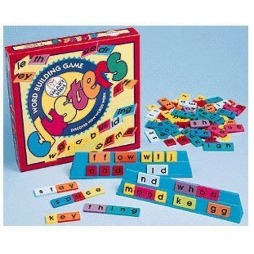 Didax Educational Resources Clusters Word Building Game for Grades 2-5 [1]