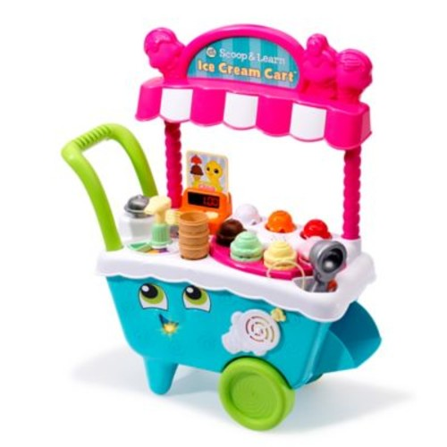 LeapFrog Scoop and Learn Ice Cream Cart in Blue
