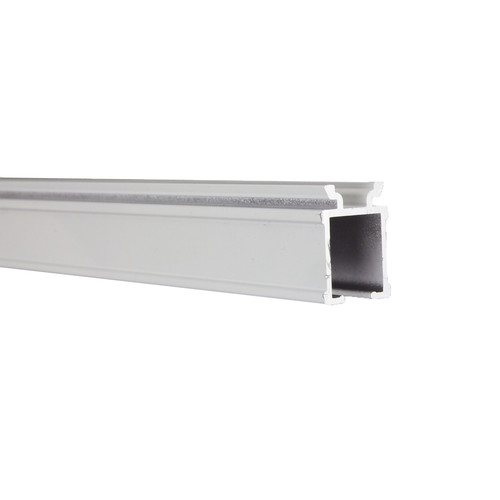 Rod Desyne Commercial Wall/Ceiling Double Curtain Track Kit 144