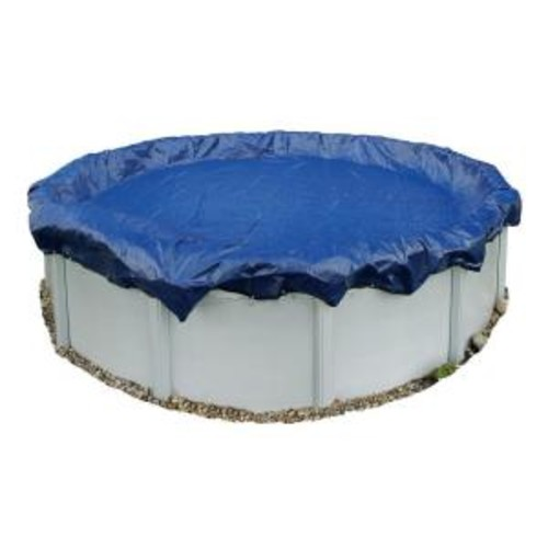 Blue Wave 15-Year 18 ft. Round Royal Blue Above Ground Winter Pool Cover