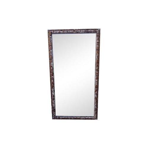 Carved Italian Gilt Wood Mirror
