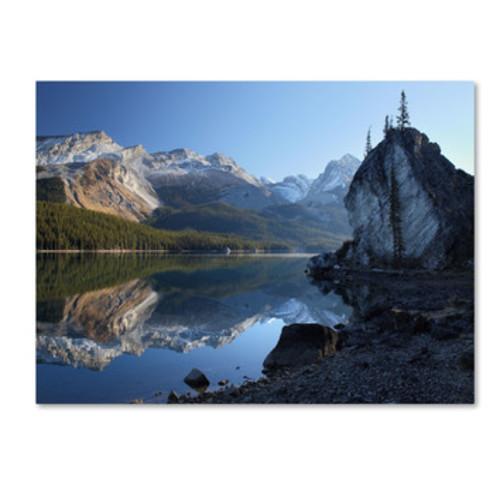'Jasper Maligne Lake' by Pierre Leclerc Photographic Print on Canvas