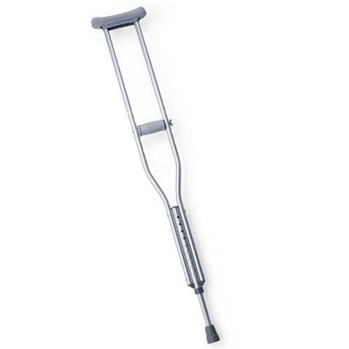 Medline MDSV80535 Standard Aluminum Crutches, Adult Medium (Pack of 8): Health & Personal Care