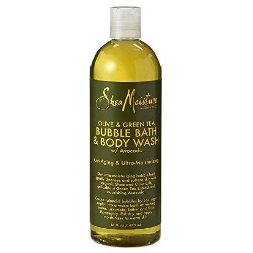 SheaMoisture Olive & Green Tea Bubble Bath & Body Wash