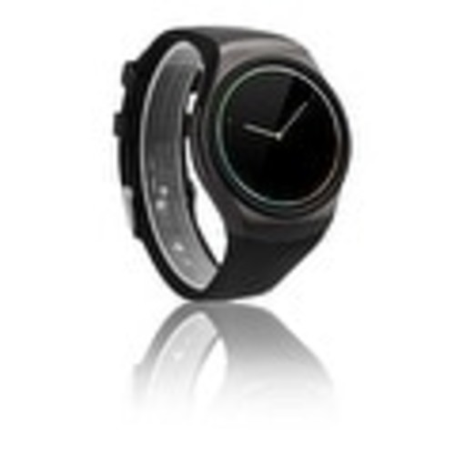 Indigi A18 iOS & Android Compatible SmartWatch & Phone - Android Watch OS + Pedometer + Heart Monitor + Sleep Monitor - Black