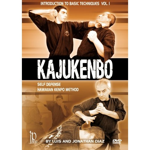 Kajukenbo Self Defense: Hawaiian Kenpo Method - Introduction to Basic Beginners Techniques Vol. 1 by Luis & Jonathan Diaz
