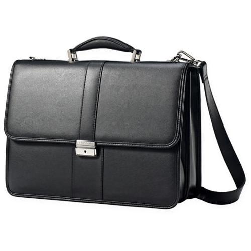 Samsonite Leather Front Flap Business Case