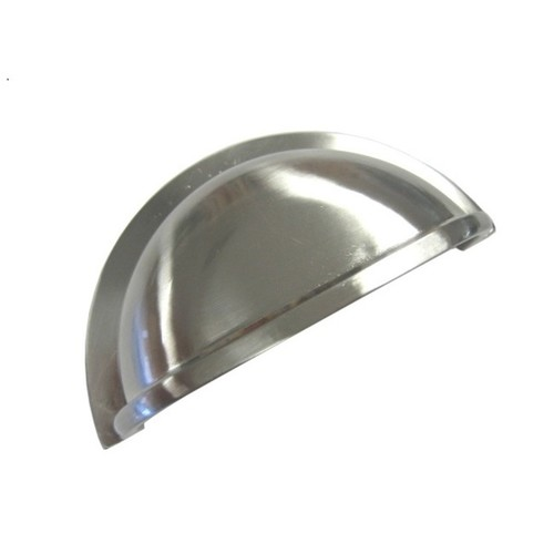 Brushed Nickel Cup Handle (Set of 4)