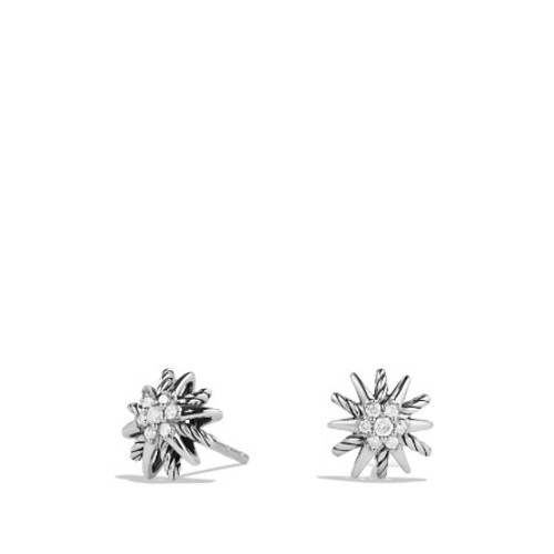 Starburst Earrings with Diamonds