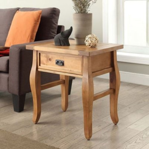 Santa Fe End Table in Antique Pine
