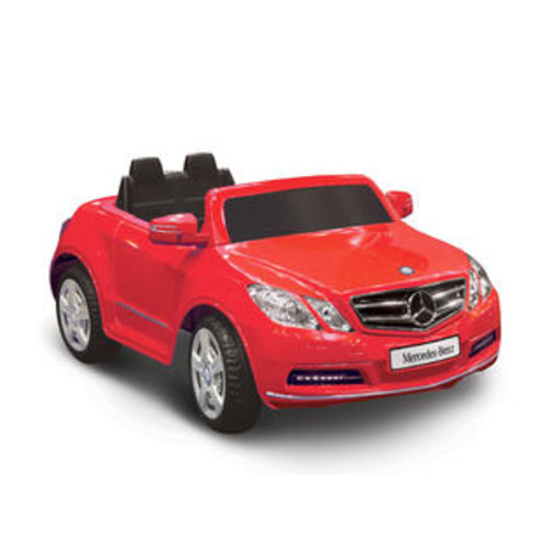 National Products Ltd National Products Limited Mercedes Benz E550 Red 1-seater Riding Toy