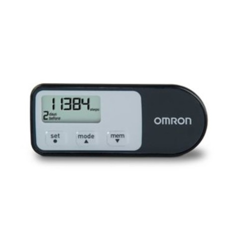 Omron Healthcare Tri-Axis Hip Pedometer With Four Activity Modes