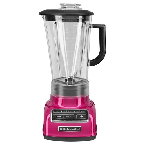 KitchenAid KSB1575RI 5-Speed Diamond Blender with 60-Ounce BPA-Free Pitcher - Raspberry Ice [Raspberry Ice]