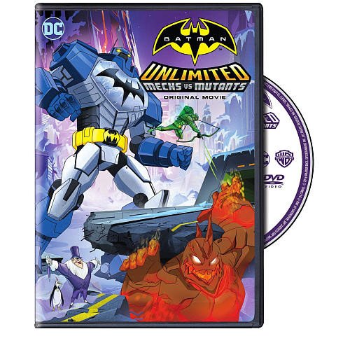 Batman Unlimited: Mechs vs Mutants DVD