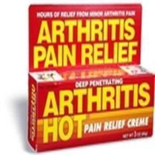 Arthritis Hot Pain Cream Size 3z Arthritis Hot Pain Cream 3z
