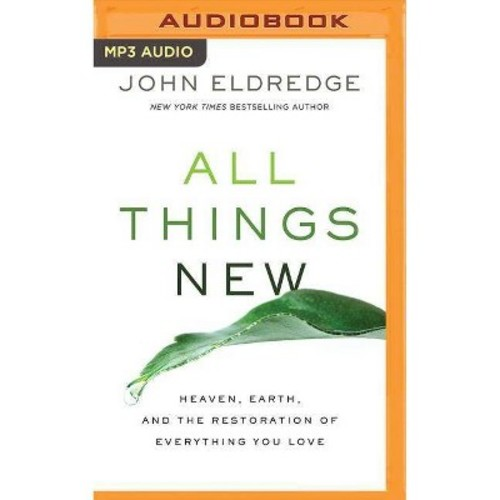 All Things New : Heaven, Earth, and the Restoration of Everything You Love (MP3-CD) (John Eldredge)
