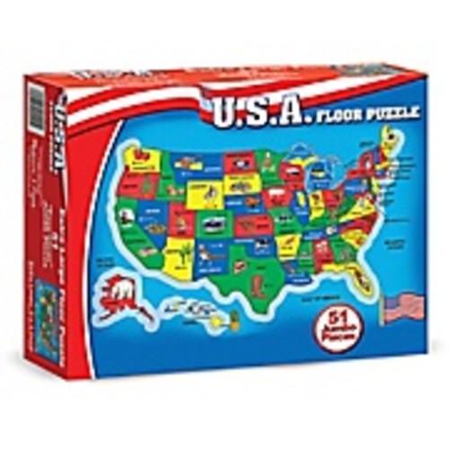 Melissa & Doug United States Map Floor Puzzle