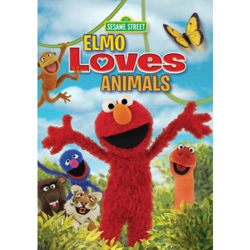 Sesame Street: Elmo Loves Animals [DVD]