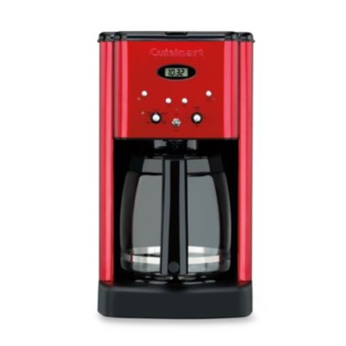 Cuisinart Brew Central12-Cup Programmable Coffee Maker in Metallic Red