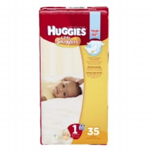 Huggies Little Snugglers Baby Diapers Size 1