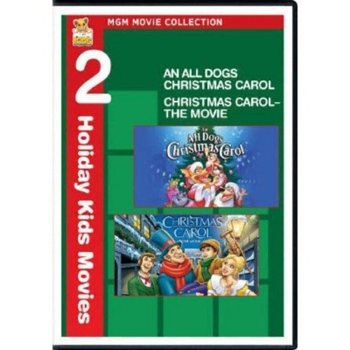 MGM Movie Collection: 2 Holiday Kids Movies - An All Dogs Christmas Carol/Christmas Carol [2 Discs] [DVD]