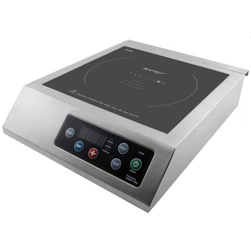 BergHOFF Professional 13 in. Induction Cooktop in Silver with 1-Element