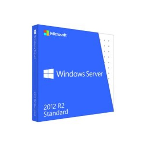 Microsoft Windows Server 2012 R2 Standard - Box pack - 10 CALs - DVD - 64-bit - English (P73-05967)