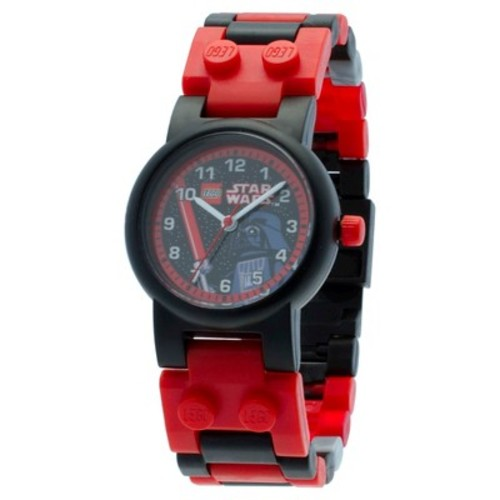 LEGO Star Wars Darth Vader  Watch with minifigure - Black&Red