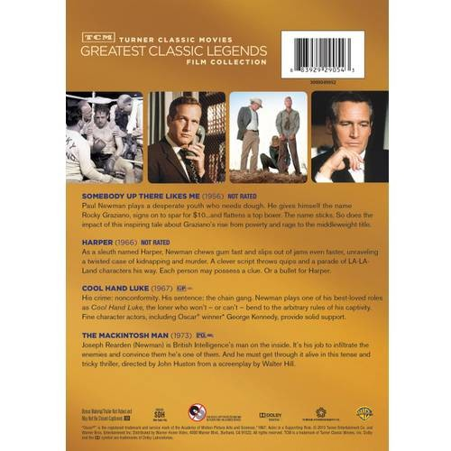 TCM Greatest Classic Films: Legends - Paul Newman [4 Discs] (DVD)
