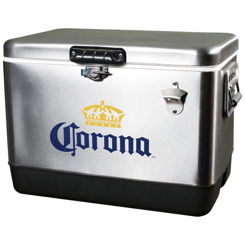 Corona CORIC-54 54 Liter Stainless Steel Ice Chest