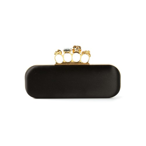 ALEXANDER MCQUEEN 'Knuckle' Long Box Clutch