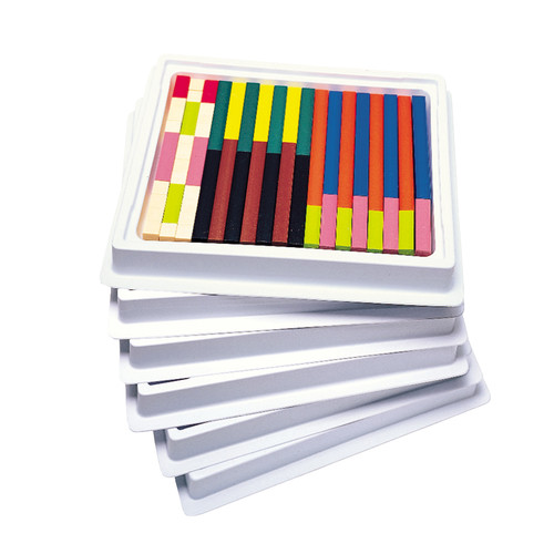 Learning Resources Cuisenaire Rods Multi-Pack Plastic