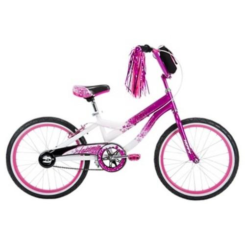 Girls 20 inch Huffy Jazzmin with Bag Fashion Bike