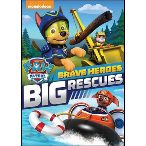 PAW Patrol: Brave Heroes, Big Rescues (dvd_video)