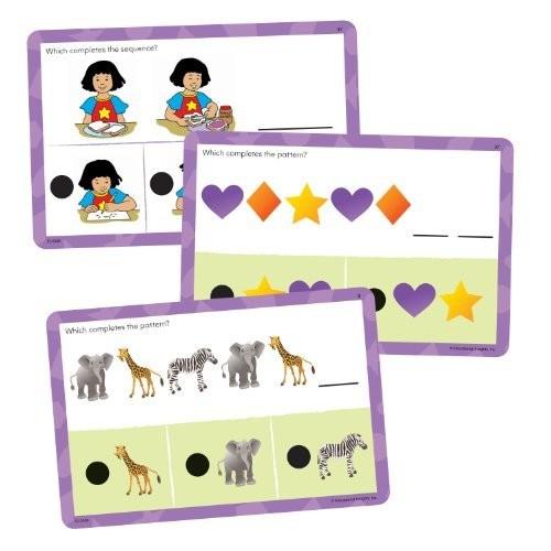 Educational Insights Hot Dots Jr. Card Set - Patterns & Sequencing