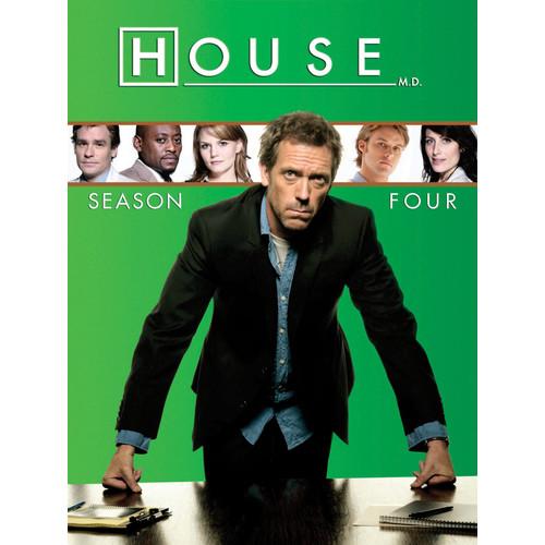 House: Season Four [4 Discs] [DVD]