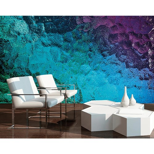 Brewster Colored Glass Wall Mural
